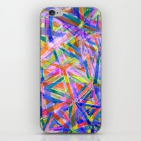 Triangle Color Splash iPhone & iPod Skin