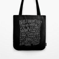 RAY BRADBURY AGAIN Tote Bag