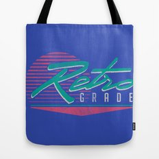 Retro Grade Tote Bag