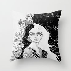 Borderline Throw Pillow