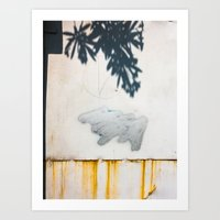 Shadow, Cloud And Rotten… Art Print