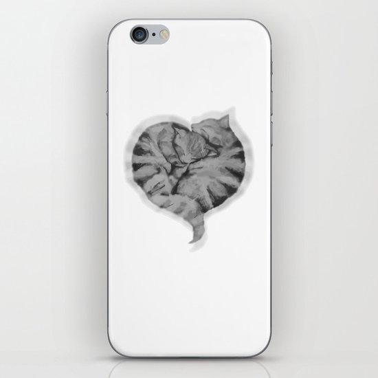 Cuddling Cats iPhone & iPod Skin