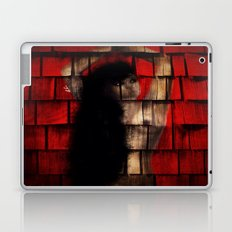 Washed Up And Left Out To Dry (Red no words) Laptop & iPad Skin