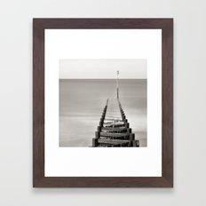 Number 11 Framed Art Print