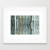 THE WHOLE ROOF AND NOTHI… Framed Art Print