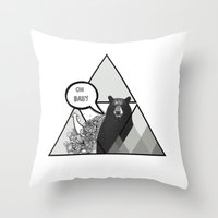 Oh Baby Throw Pillow