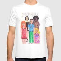 The Spice Girls Mens Fitted Tee White SMALL