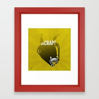 Zodiac CANCER Framed Art Print