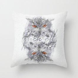 Throw Pillow - F*ck off - studio VII