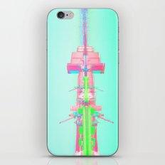 Neon Port iPhone & iPod Skin