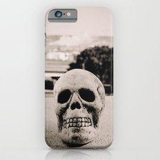 Downtown skull iPhone 6 Slim Case