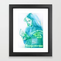 Brightest Witch of Her Age Framed Art Print