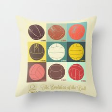 The Evolution of the Ball Throw Pillow