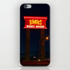 Lakes Body Shop iPhone & iPod Skin