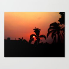 Nother Sunset Canvas Print