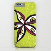 Tired Green Eyes Flower iPhone 6 Slim Case