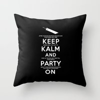 Final Fantasy 7: Keep Ka… Throw Pillow
