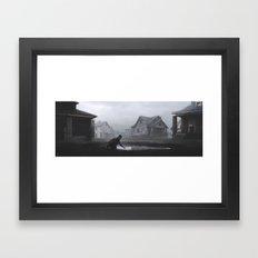 Hole In The Earth Framed Art Print