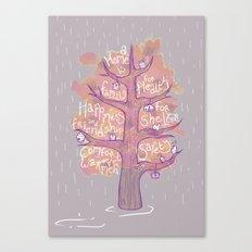 A Home is - Autumn Canvas Print