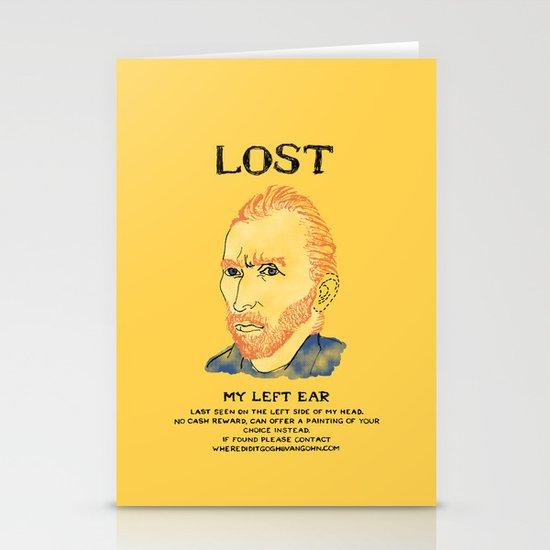 Where did it Gogh? Stationery Card