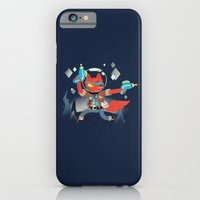 iPhone & iPod Case featuring Bounty Hunter Space Cat Killa by Polite Yet Peculiar
