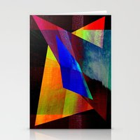 Design Geometric In Colo… Stationery Cards