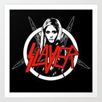 Vampire Slayer Art Print