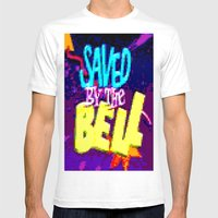 Saved By The Bell Mens Fitted Tee White SMALL
