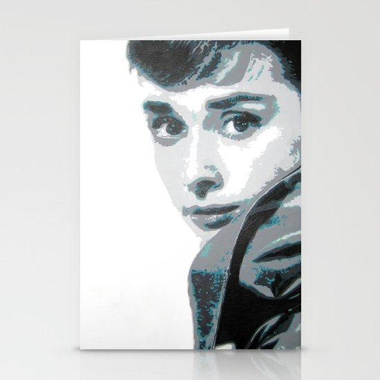 Audrey Stationery Card