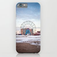 iPhone & iPod Case featuring Coney Island by Melissa Murphy