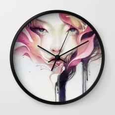 Bauhinia Wall Clock