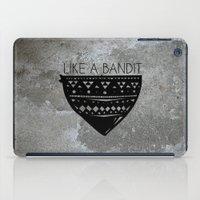 Like a Bandit iPad Case