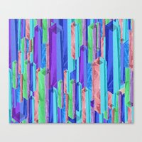 Crystal Towers Canvas Print