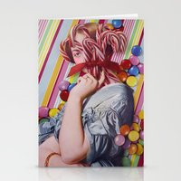 Sacchrine   Collage Stationery Cards