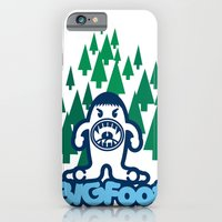 iPhone & iPod Case featuring Big Foot by registrento