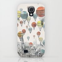 Galaxy S4 Cases featuring Voyages over Edinburgh by David Fleck