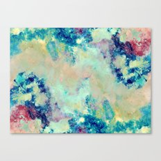 Paint & Thoughts Canvas Print