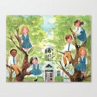 St. Madeline Choir Schoo… Canvas Print