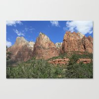 Court of the Patriarchs Canvas Print