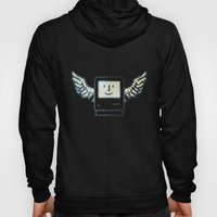 pixel mac with wings Hoody