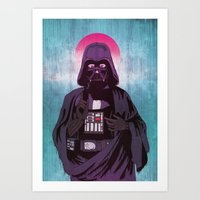 Art Print featuring Holy Sith by That Design Bastard