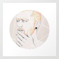 Colour Me Blind II Art Print