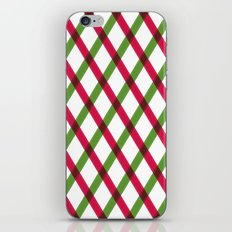 Holiday Ribbon Pattern iPhone & iPod Skin