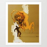 Creature Concept Art Print