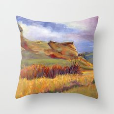 Road to Leyden Throw Pillow