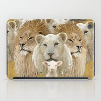 Lions Led By A Lamb iPad Case