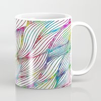 Trace Paint Abstract Mug