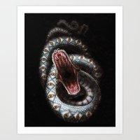 Vision Serpent Art Print