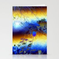 ABSTRACT - My Blue Heave… Stationery Cards