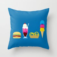 Throw Pillow featuring There's nothing finer... by Mouki K. Butt